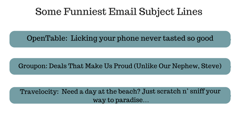funniest email subject lines, email subject line importance