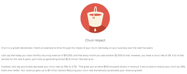 Customer loyalty churn rate
