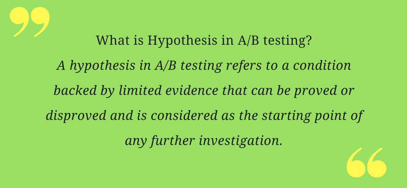 AB testing-hypothesis, AB testing email campaigns