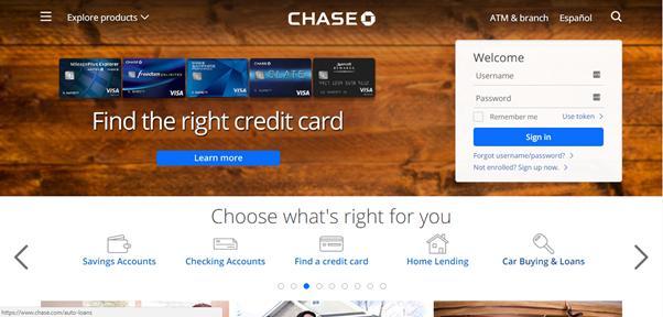 chase-landing-page, landing page creator