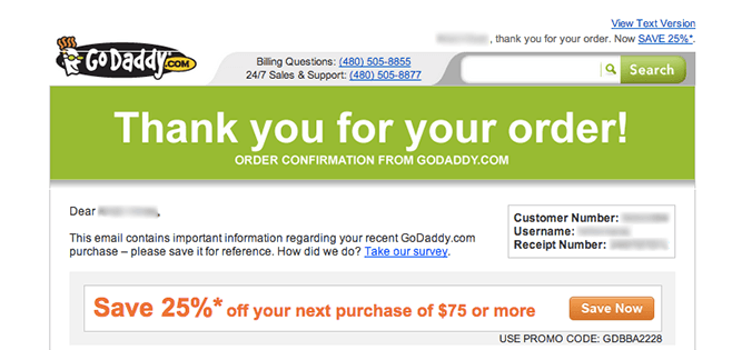 post-purchase-emails-godaddy