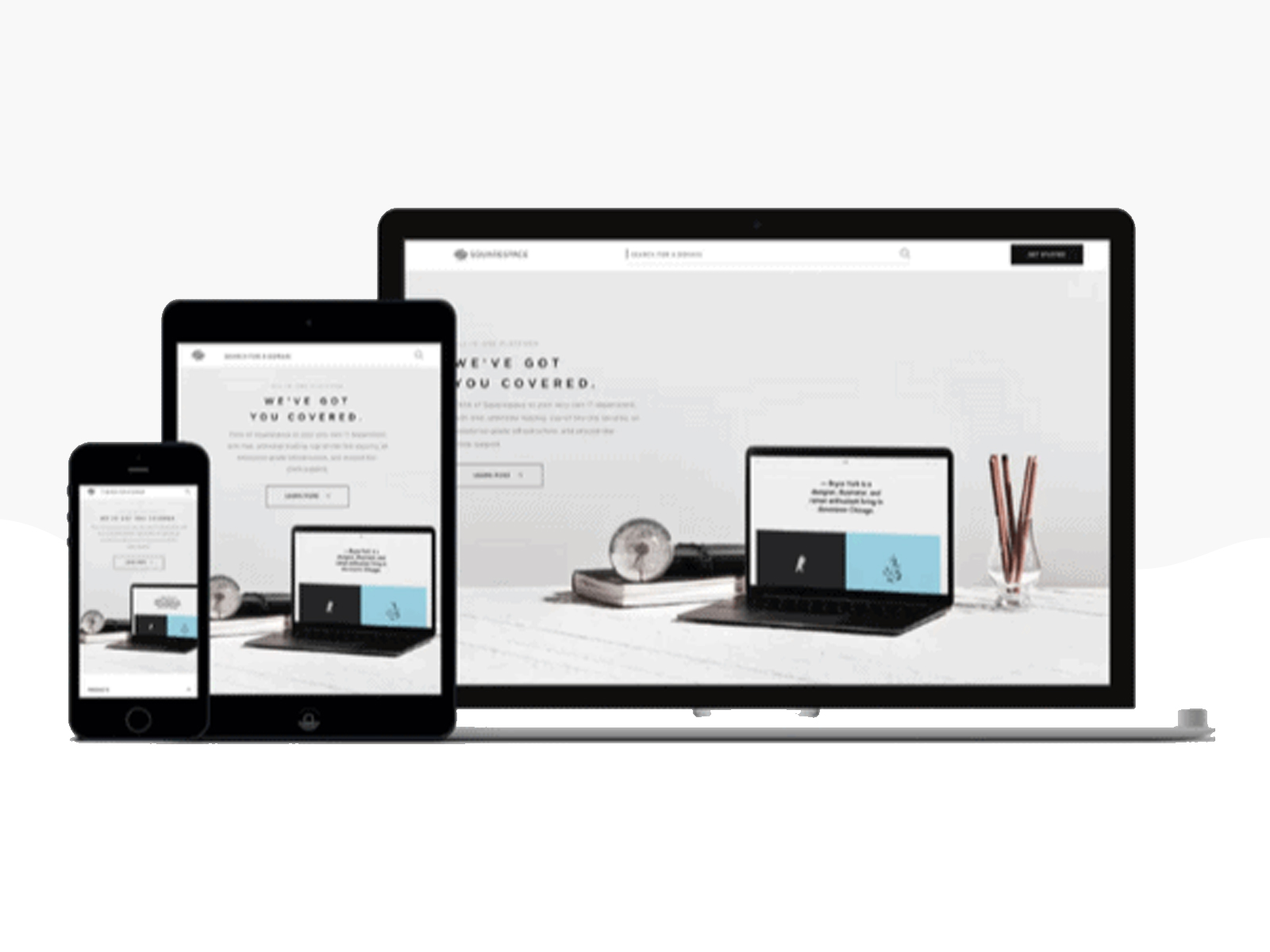 create responsive landing pages