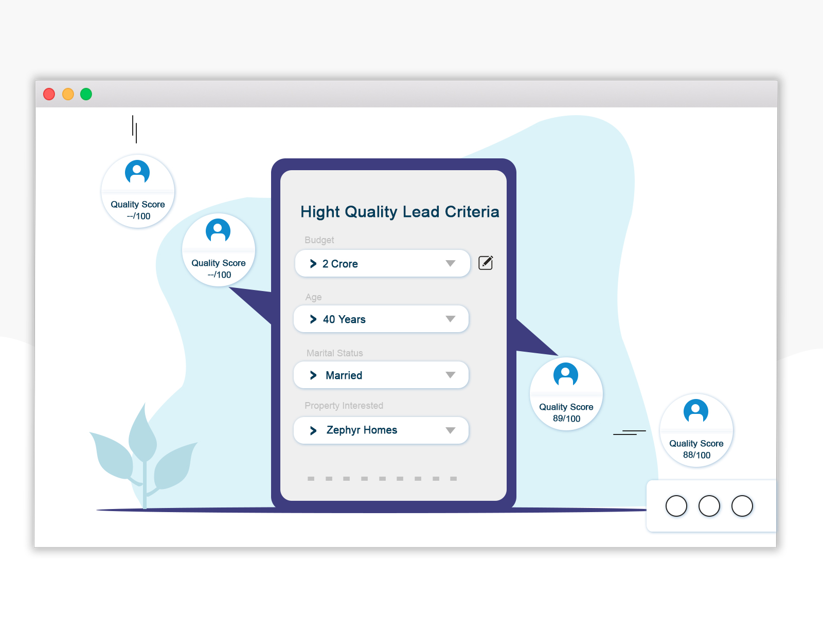 smartly customize lead quality criteria