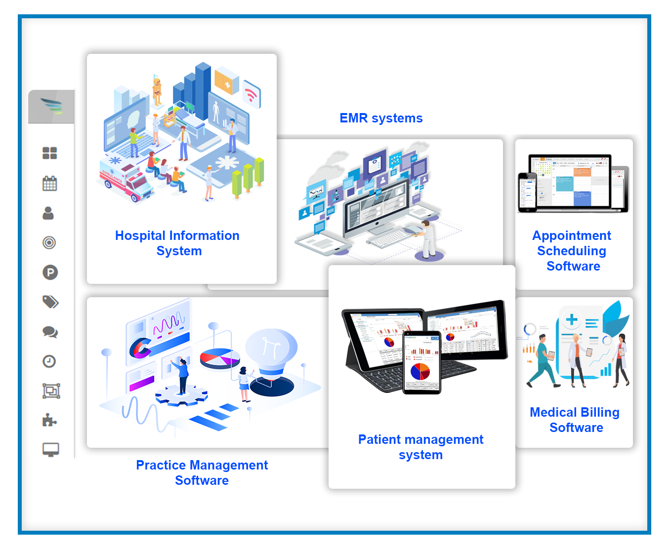 easily integrate your health CRM into your primary healthcare tools