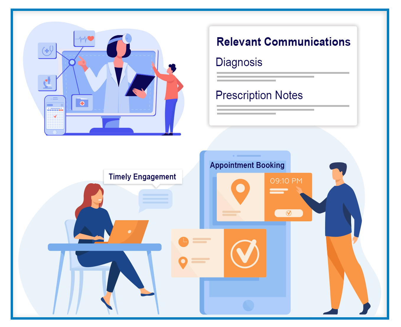 reduce errors by utilizing your healthcare CRM